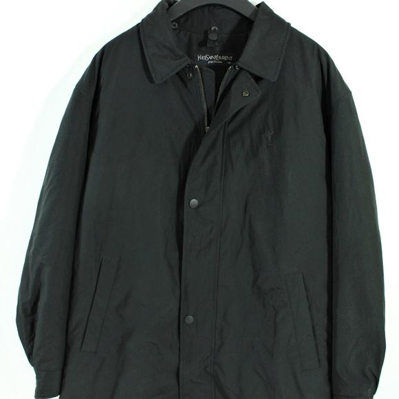 c24cbc29d5b VTG Yves Saint Laurent YSL Jacket Mens Rare Black. Saint Laurent.  M_5b71e450df0307a6246f14e6. M_5b71e4503c984499d84e96fa.  M_5b71e450bb761573dcd86020